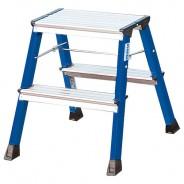 Складная подставка двухсторонняя, синяя Krause Monto Rolly 2х2