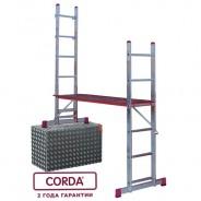 Малые лестничные подмости Krause Corda 2х7 3 и 4м