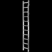 Лестница алюминиевая односекционная NV 121 1х6