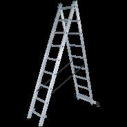 Лестница алюминиевая двухсекционная NV 122 2х10