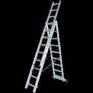 Лестница алюминиевая трёхсекционная NV 123 3х11