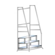 Лестница – подставка с поручнями, передвижная, разборная ЛПМ
