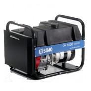 Бензогенератор SH6000E-2 (6 кВт,  с баком большой емкости и электростартером)