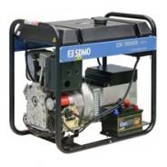 Дизель-генератор с электростартером DX 10000E (8 кВт)