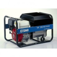 Бензиновая электростанция для сварки постоянным током до 200А VX 200/4H