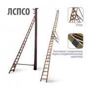 Лестница приставная диэлектрическая для подъёма на опоры ЛУЧ ЛСПСО-4,25