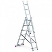 Лестница трехсекционная универсальная бытовая Krause Corda 3х6