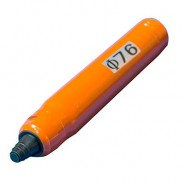 Булава для глубинного вибратора VEKTOR D 76 ММ